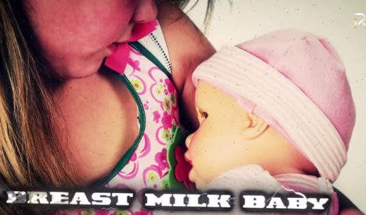breast milk baby