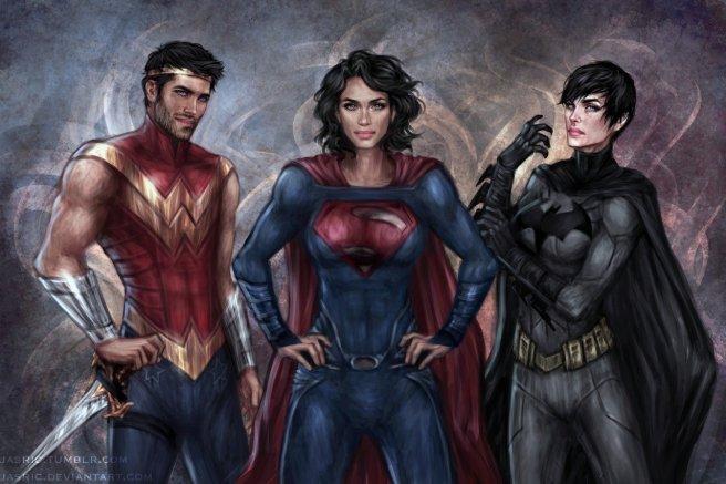 The DC Trinity